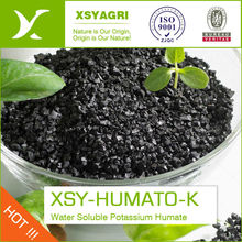 Potassium Humate Humic Acid Organic Fertilizer 60% With 10% Fulvic Acid And 10% K