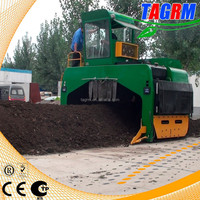 Heavy-duty cow manure processing/cow manure compost processing machine for organic fertilizer M3600