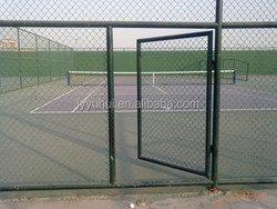 High quality zinc plated dog kennel of chain link fence