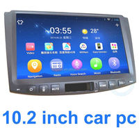 China High Quality Products 10.2 inch Big Screen GPS Cheap In Dash Cd Dvd Player