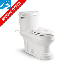 el baldeo decorativa en dos piezas de cuarto de baño