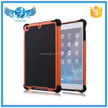 High quality factory price two in one silicon case for ipad mini 2
