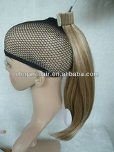 Manufacture Supply Fast Delivery Ponytail With 100% Remy Hair Brazilian Human Hair