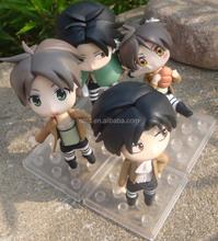 Figurine flashing new design diy cartoon toys,cartoon anime figure toy,cartoon characters pvc toys