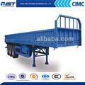 Cimc heavy duty remolque transporte de 60 ton pared lateral desmontable barato del remolque de carga para tractor