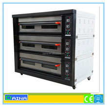 Global sales 10000 units!!! stainlees steel bakery oven 3 deck/ bakery oven/ bread deck oven
