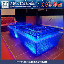 LED cooling counter top table top salad bar