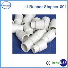 white rubber end caps
