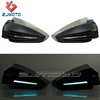 "ZJMOTO Black Carton LED Hand Guards Motorcycle Handguard With Lights Mount For 7/8"" Handlebar Tube Fit To ATV Dirt Bike"