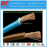 flexible electric wire flexible single core cable insulated flexible cable 4sq mm flexible fireproof wire flex single core cable