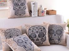 China factory NEW DESIGN custom digital printed cotton canvas sofa Cushion and Cushion cover
