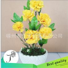 artificial carnation flower artificial yellow carnation cut flower price