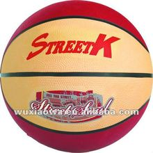 Colorful basketball / official balls sizes / popular design balls(RB010)