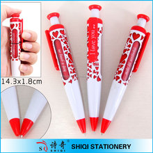 2014 wholesale customized jumbo window message ballpens