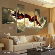 Sleeping Beauty 5 Screen Gift HAND PAINTED Pop canvas Modern Decorative Portfolio Abstract art Dance Beautiful oil paintings