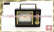 Hot sale zinc alloy Retro Radio alarm standard Clock