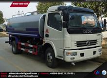 7000 liters 4x2 Water Tank Truck, water tanker