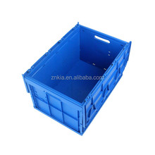 Plastic bin with lid for moving