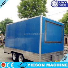Prefabricated Pizza vending food van for sale kebab van new factory direct best global food cart food vans