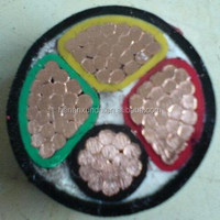 Low voltage multi-core PVC insulated STA/SWA armoured underground cable