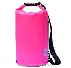 15L PVC Tarpaulin Outdoor Sport bag with shoulder strap waterproof dry bag