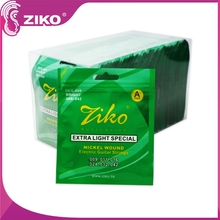 wholesale China copper plated acoustic guitar string,ziko normal electric guitar strings