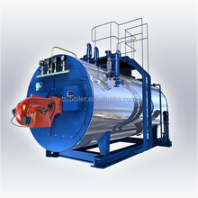 Gas and oil fired industrial low pressure steam boiler price
