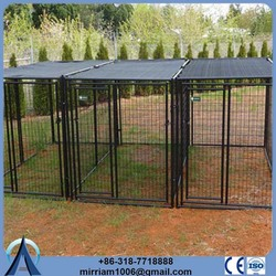 ISO 9012 or galvanized comfortable dog travel cage carrier