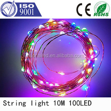 Wholesale China supplier 8 function christmas light controller led chasing christmas light clear wire with CE ROHS certification