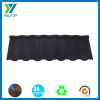 Guangdong economic high quality stone coated steel roofing tile
