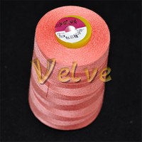 poly poly core spun yarn for sewing coats bags jeans shoes