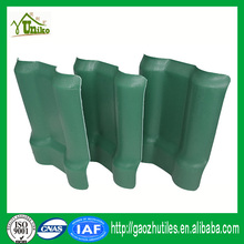 long service life 3 layer one layer ridge roof tile synthetic resin roof tile