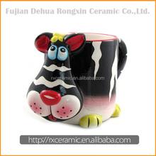 Cartoon animal 3D life is good ceramic coffee mugs