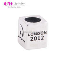 2012 London Olympics Commemorative Silver Beads Western Charms Wholesale