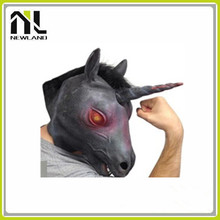 Green Halloween Costume Theater Prop High quality Novelty Latex Animals Mask