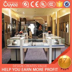 Hot sales high-grade creative attractive glass display showcase jewelry