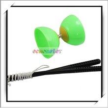 Wholesale! Diabolo Juggling Spinning Toy Green-W8002GR