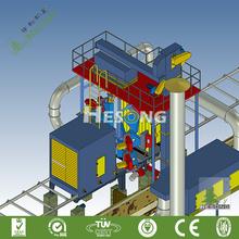 CE Certification H Beam Shot Blasting Machine / Shot Blast Unit