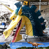 MY Dino-A30 Movie character life size fiberglass dragon head