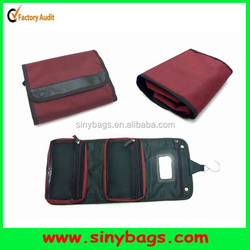 High quality roll up toiletry bag, travel organiser
