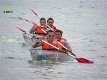 Transparent PC material boat manufacturers plastic boats cool kayak