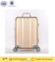 Fashionable trolling luggage/ hard shell luggage/ aluminum luggage