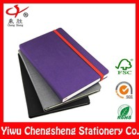 Cover cloth fabric hard cover promotional a4 a5 custom hardcover notebook