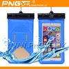 PNGXE IPX8 pvc waterproof mobile cell phone dry pouch with compass for swimming