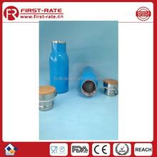 Beautiful Blue stainless steel water bottle