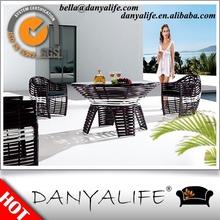 Dyds- ev1156 danyalife design clássico rattan poli conjunto terraço
