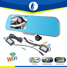 New Research East to install Wireless Wifi Android 4.1 WR-DVR3541 5 Inch LCD Wireless Wif + GPS Navigation + Rearview Mirror DVR
