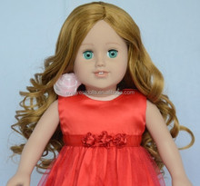 high quality PVC doll wig making/wig doll/ball jointed doll wigs