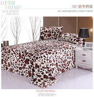 2015 leopard print blanket king size home textile cheap and anti-pilling fleece flannel blanket bed sheet