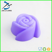 Silicone mould rose cupcake decorations